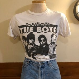 To Hell With The Boys Small Unisex Shirt Worn Soft